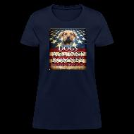 Women's T-Shirts ~ Women's T-Shirt ~ Official Dogs Against Romney Women's Tee