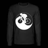 Long Sleeve Shirts ~ Men's Long Sleeve T-Shirt ~ Cycle Yang
