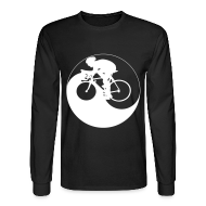 Long Sleeve Shirts ~ Men's Long Sleeve T-Shirt ~ Cycle Yang