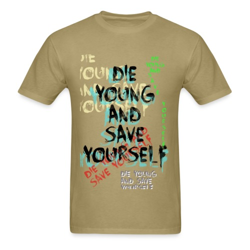 DYSY lyrics - Men's T-Shirt