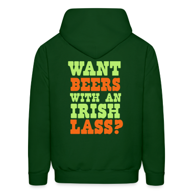 WANT BEERS WITH AN IRISH LASS? Hoodies