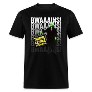 Men's ZGW Tee (Black) - Men's T-Shirt