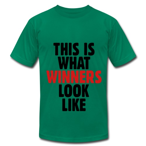 This is what winners look like - Men's Fine Jersey T-Shirt