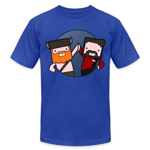Superior Mens Tee: Eiffel Tower - Men's Fine Jersey T-Shirt