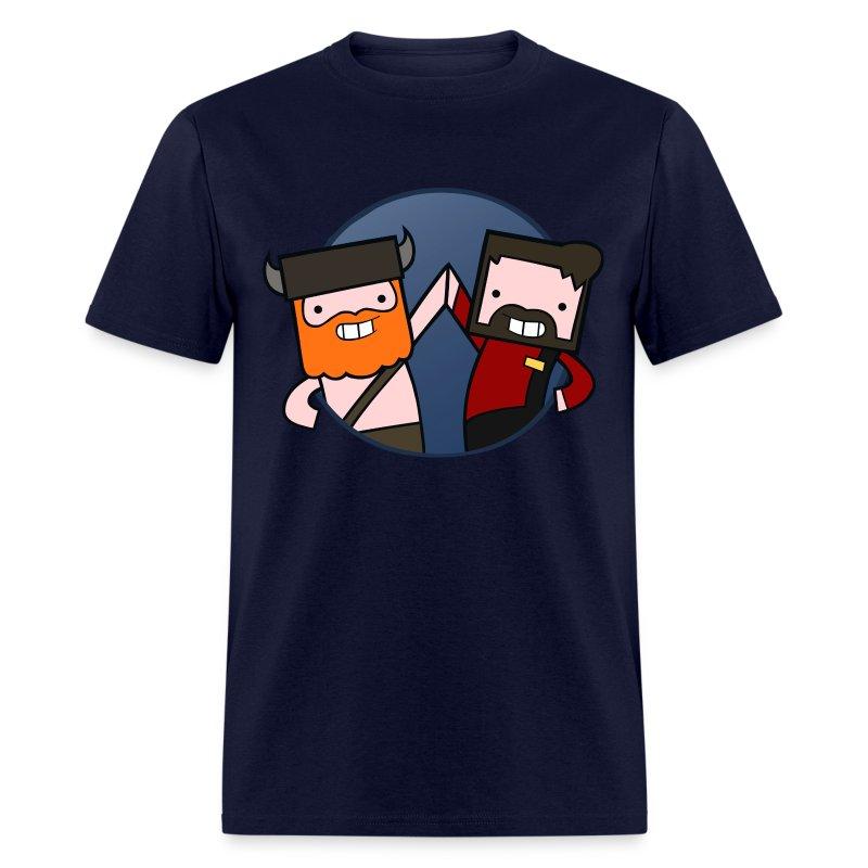 Mens Tee: Eiffel Tower - Men's T-Shirt