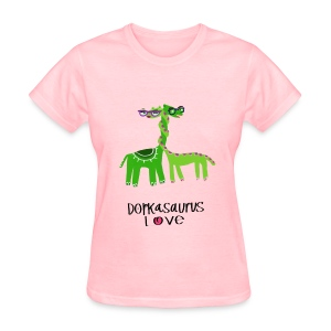 Dorkasaurus Love, the Women's Tshirt - Women's T-Shirt