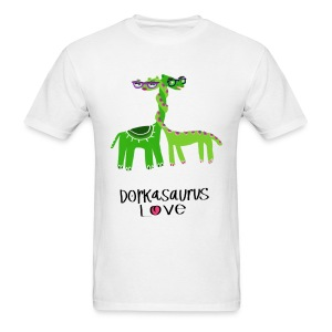 Dorkasaurus Love, the Men's Tshirt - Men's T-Shirt