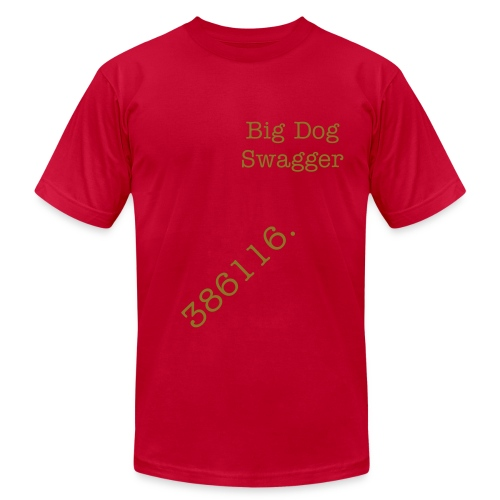 Big Dog Swagger - Men's Fine Jersey T-Shirt