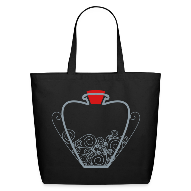 """Heart Vial with Stopper"" Tote"