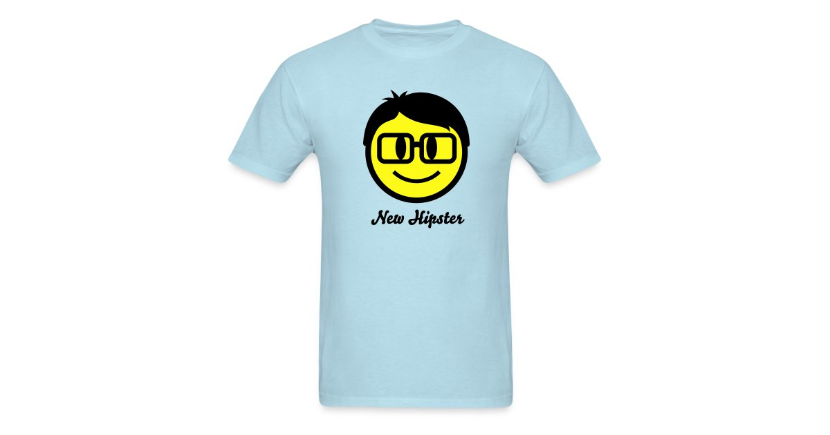 hardwear - styling clothes | Nerd Smiley Icon 2c (+ your Text) - Mens  T-Shirt