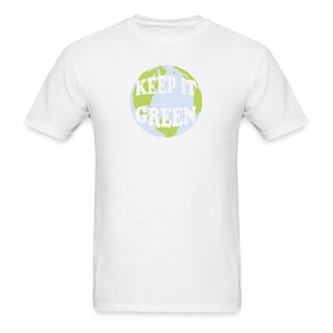 KEEP IT GREEN - Men's T-Shirt