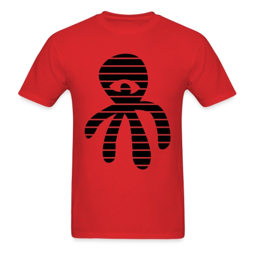 Deniz Tekkul: Striped Octopus  - Men's T-Shirt