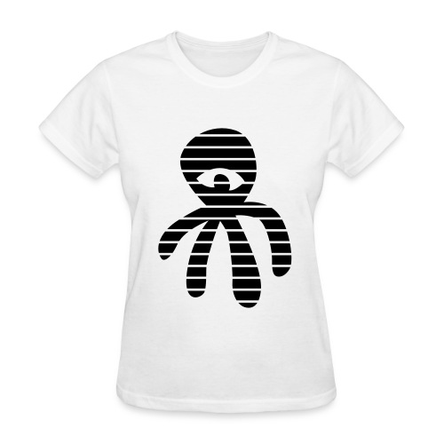 Deniz Tekkul: Striped Octopus  - Women's T-Shirt