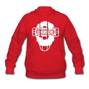 Womens Chooch Mask Sweatshirt  - Women's Hoodie