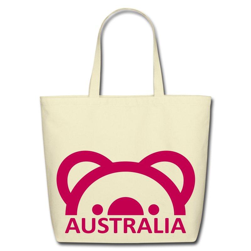 Australia Koala Tote Bag Eco Friendly Cotton