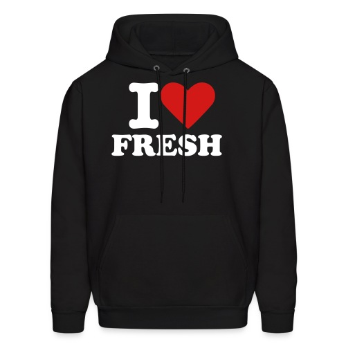 I LOVE FRESH - Men's Hoodie