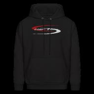 Hoodies ~ Men's Hoodie ~ coL Hooded Sweatshirt - Black