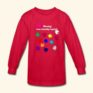 Hilareous Jig saw Tee - Kids' Long Sleeve T-Shirt