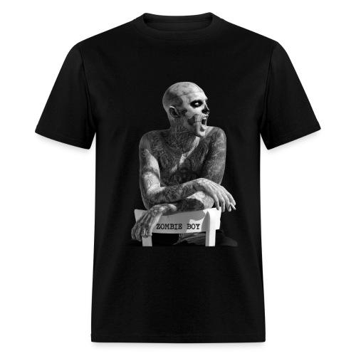 Zombie Boy Chair  - Black Men's T - Men's T-Shirt