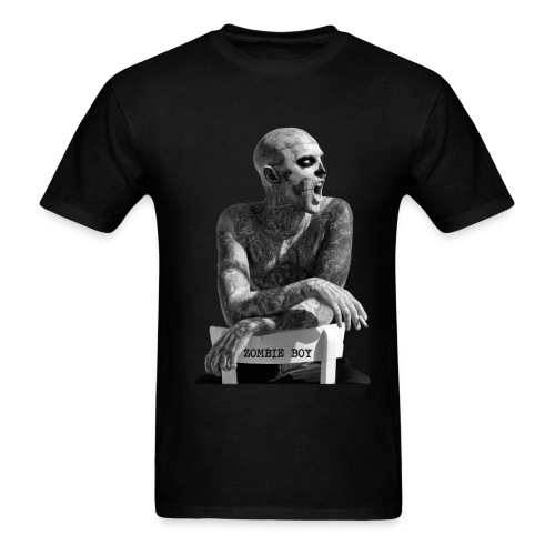 Zombie Boy Chair  - Black Men's T - Men's T-Shirt