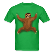 T-Shirts ~ Men's T-Shirt ~ Sloth Love Hug - Men's