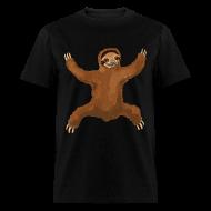T-Shirts ~ Men's T-Shirt ~ Sloth Love Hug Men's