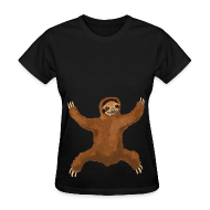 T-Shirts ~ Women's T-Shirt ~ Sloth Love Hug Women's