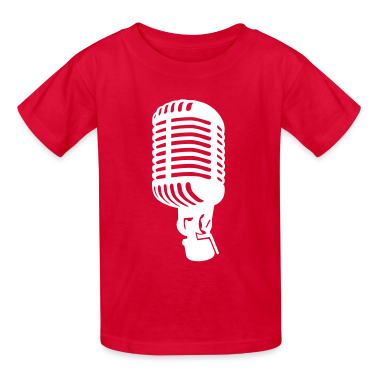 Microphone Kids' Shirts