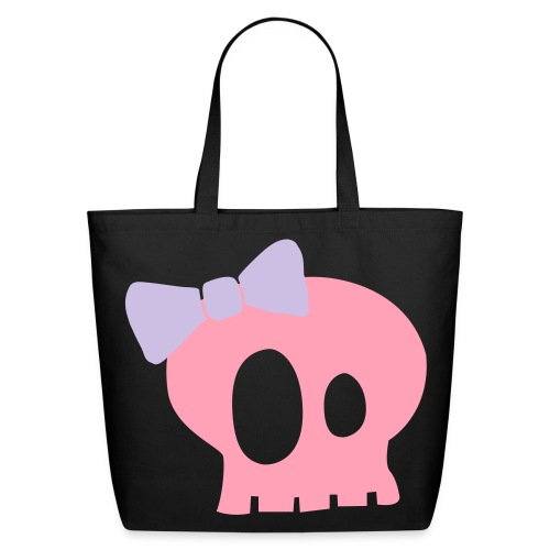 Skull Bag - Eco-Friendly Cotton Tote