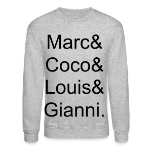 Fashion Icons - Crewneck Sweatshirt