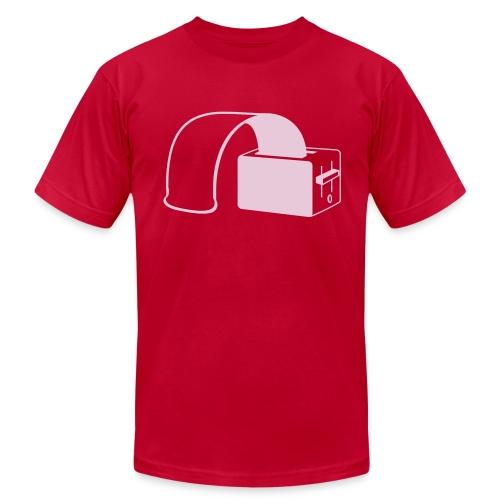 rubber toast - Men's Fine Jersey T-Shirt