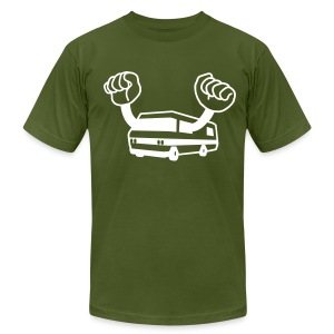 happy camper - Men's T-Shirt by American Apparel
