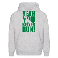 Hoodies ~ Men's Hoodie ~ Better Run Deer