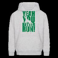 Hoodies ~ Men's Hoodie ~ Better Run Deer