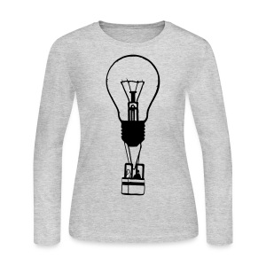 Idea Taking Flight - Women's Long Sleeve Jersey T-Shirt