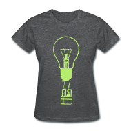T-Shirts ~ Women's T-Shirt ~ Idea Taking Flight