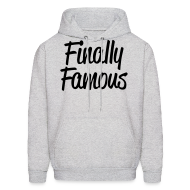 Hoodies ~ Men's Hoodie ~ Finally Famous