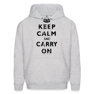 Hoodies ~ Men's Hoodie ~ Carry On