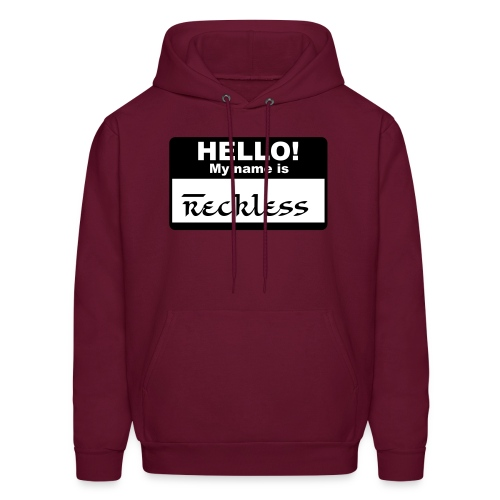 My Name is Reckless (Mens) - Men's Hoodie