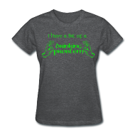 Women's T-Shirts ~ Women's T-Shirt ~ Drinking Problem?--Neon