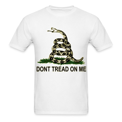 Don't tread on me, - Men's T-Shirt