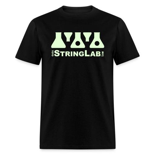 Glow YoYo Logo - Men's T-Shirt