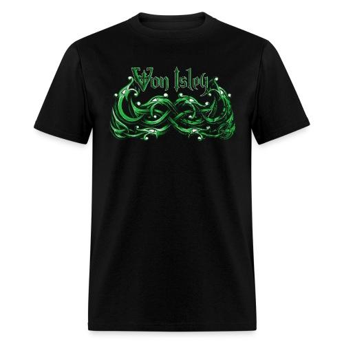 Von Isley Celtic Knot Dragon V - Men's T-Shirt