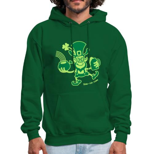 Saint Patrick's Leprechaun - Men's Hoodie
