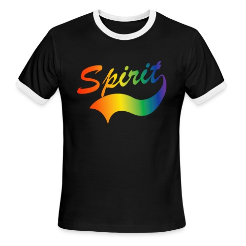 Spirit Men's  Ringer Shirt - Men's Ringer T-Shirt