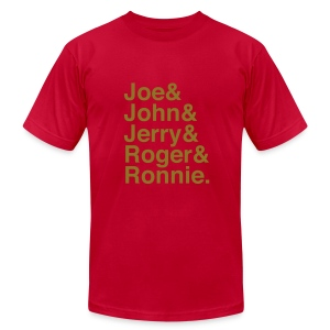 49ers (1988) (Gold glitter) - Men's T-Shirt by American Apparel