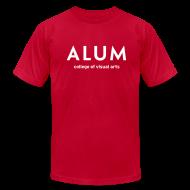 T-Shirts ~ Men's T-Shirt by American Apparel ~ CVA Men's Alum t-shirt