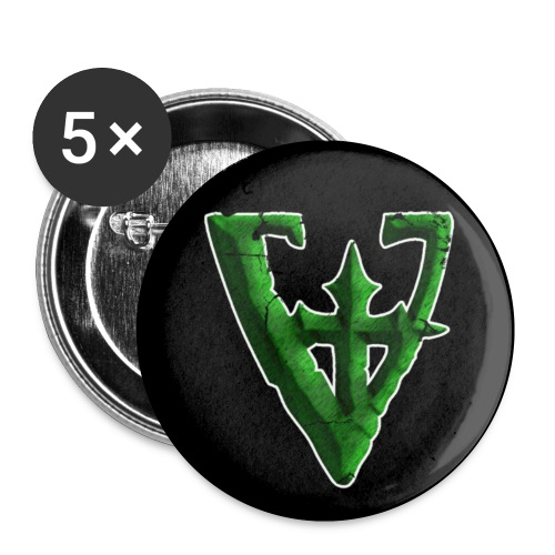 Von Isley V Logo Button - Small Buttons