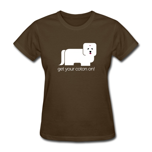 Women's T-Shirt - From our logo, an adorable Coton De Tulear tee shirt that everyone will love!