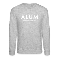 Long Sleeve Shirts ~ Crewneck Sweatshirt ~ CVA Men's Alum crewneck sweatshirt
